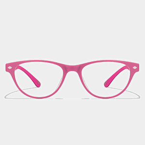Cat Eye Pink Eyeglass