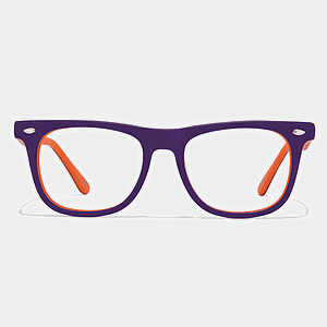 Bheem Orange Purple Frame