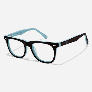 Vincent Blue Eyeglass